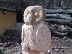 Dřevěné sochy na prodej