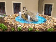 Dodávka technologie k fontáně v Českých Budějovicích