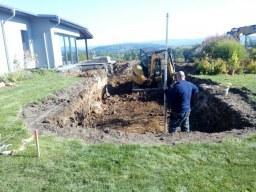 Poradenství při stavbě jezírka svépomocí