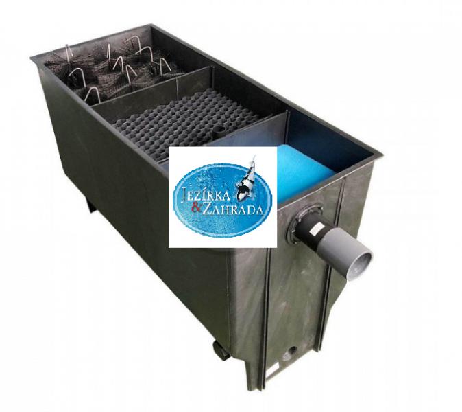 XClear 3 komorový filtr C-8 na 8m3 (220 l) - Filtry,filtrační sety a filtrační materiály Průtokové filtry