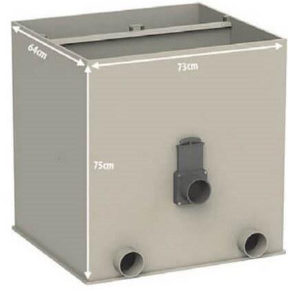 Aqua Forte UltraSieve Low XL (štěrbinový filtr) - Filtry,filtrační sety a filtrační materiály Štěrbinové filtry, odstředivky