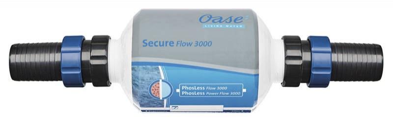 Oase Secure Flow 3000 (pojistný filtr) - Péče o vodu, údržba jezírek Zlepšení kvality vody