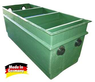 Tripond Jumbo 3komorový (na 35m3) s médii - Filtry,filtrační sety a filtrační materiály Tripond komorové filtry