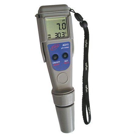 Adwa AD12 (pH metr, teploměr) - Péče o vodu, údržba jezírek Testování vody Měření teploty vody