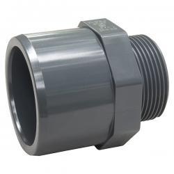 """PVC přechodový nipl 20-16mm x 1/2"""" ext. - Stavba jezírka,hadice,trubky,fitinky Tvarovky,fitinky Přechodové niply, dvojniply"""