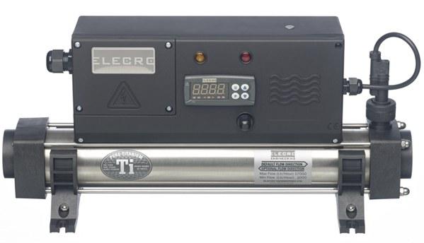 Elecro 8kW, 230V - profi průtokový ohřívač vody (zboží pouze rozbalené) - Osvětlení, elektro k jezírku Průtokové ohřívače