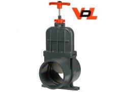 PVC VDL šoupě - tažný uzávěr (160mm)