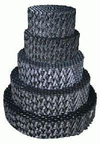 Plástvový předfiltr pro vortex (C50) - Filtry,filtrační sety a filtrační materiály Filtrační materiály Plástvový předfiltr