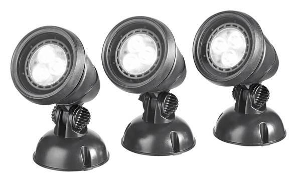 Oase LunAqua Classic LED Set 3 (jezírkové LED osvětlení) - Osvětlení, elektro k jezírku Osvětlení jezírka