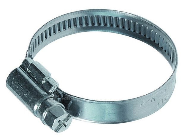 Stahovací spona nerez (14-27mm) - Stavba jezírka,hadice,trubky,fitinky Hadicové spojky,spony,příchytky