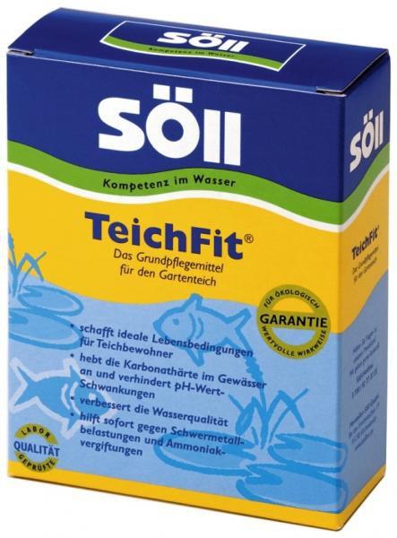 Söll TeichFit-prostředek pro úpravy jezírkové vody (250g na 2,5m3) - Péče o vodu, údržba jezírek Úprava hodnot vody