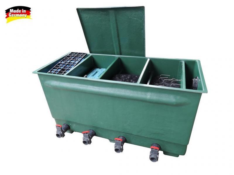 Tripond 4komorový filtr (na 8m3) s médii NEW - Filtry,filtrační sety a filtrační materiály Tripond komorové filtry