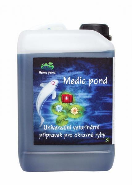 Home pond Medic pond (3 l) - Ryby a potřeby pro ryby Léčiva pro ryby a vodu