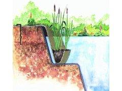 Oase jutová kapsa na vodní kytky
