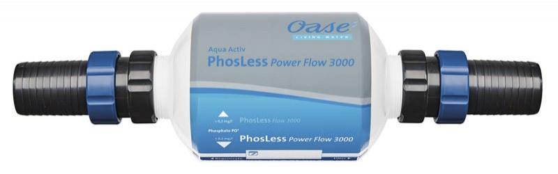 Oase PhosLess Power Flow 3000 (snížení fosfátů) - Péče o vodu, údržba jezírek Zlepšení kvality vody