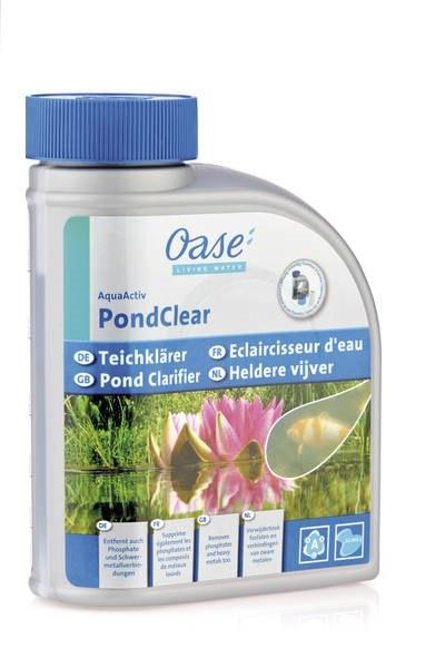 Oase AquaActiv PondClear - odstraňuje zelenou vodu (500ml na 10m3) - Péče o vodu, údržba jezírek Přípravky proti zelené vodě