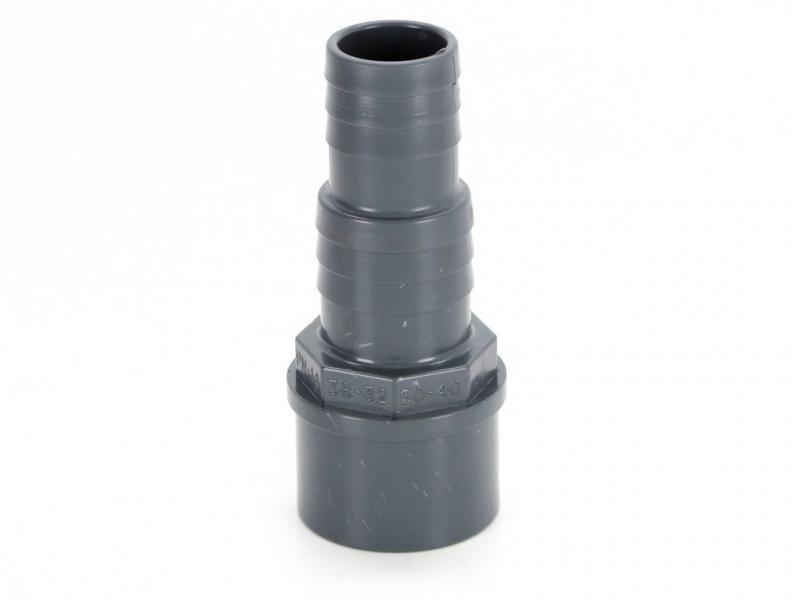 PVC hadicový trn 50mmx32/38mm - Stavba jezírka,hadice,trubky,fitinky Tvarovky,fitinky Hadicové trny
