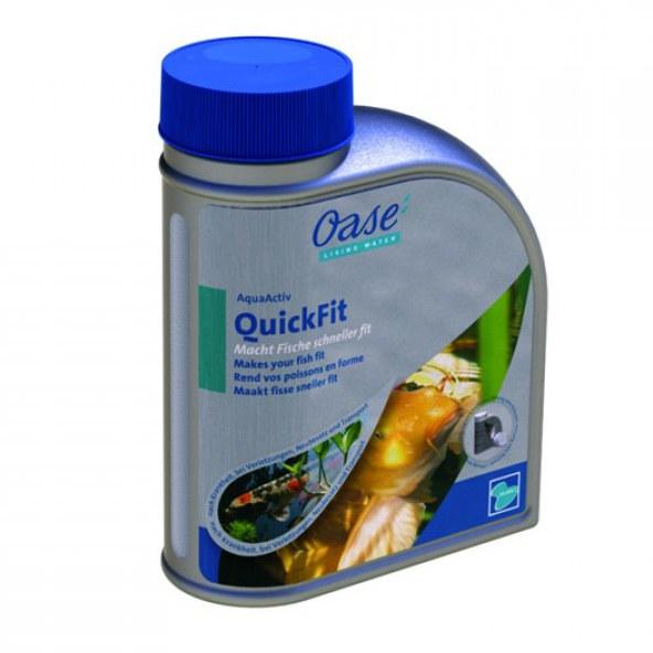 Oase AquaActiv QuickFit-posiluje imunitu ryb (500ml) - Ryby a potřeby pro ryby Léčiva pro ryby a vodu