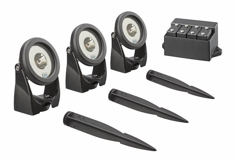 Oase LunAqua Power LED Set 3 (jezírkové LED osvětlení) - Osvětlení, elektro k jezírku Osvětlení jezírka