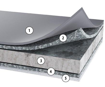 Fatra Fatranyl PP speciální lišta-koutová vnější (š. 7cm/1bm) - Fólie, geotextílie, plastová jezírka Ostatní