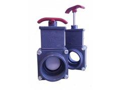 PVC Praher šoupě - tažný uzávěr (50mm)
