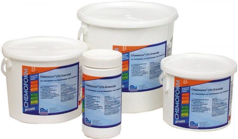 Chlór granulát (3 kg, rychle rozpustný) - Bazénové příslušenství, filtry, čerpadla Bazénová chemie