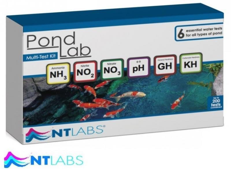 NT LABS Pondlab - multitest vody - Péče o vodu, údržba jezírek Testování vody