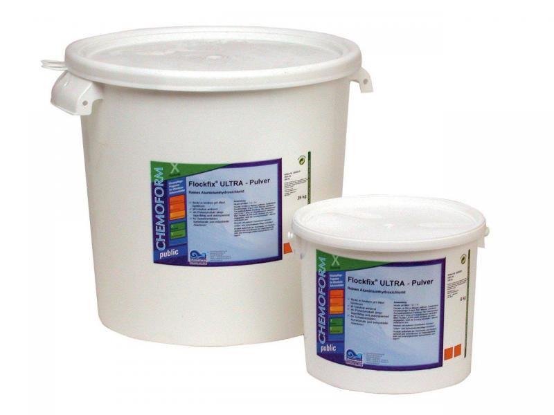 Vločkovač - Floccer prášek (10 kg, flokulační přípravek) - Bazénové příslušenství Bazénová chemie