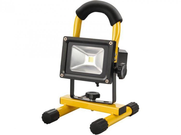 Reflektor LED 10W, nabíjecí - Potřeby pro domácnost Svítilny, el. příslušenství