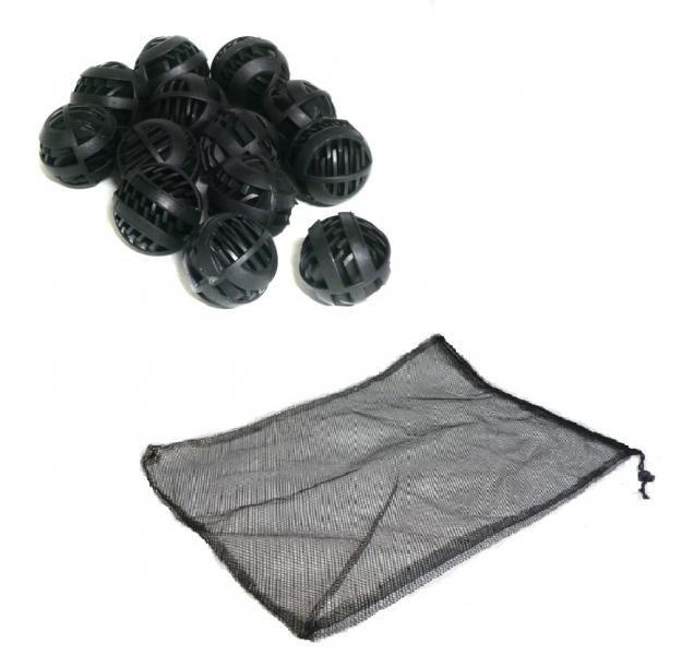 Biokuličky + filtrační sáček (45x30cm) - Filtry,filtrační sety a filtrační materiály Filtrační materiály Biokuličky