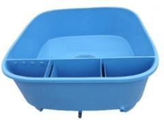 Nádrž s filtrem pro chov a prodej ryb (2660 l)