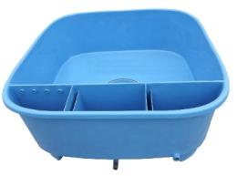 Nádrž s filtrem pro chov a prodej ryb (2660 l) - Ryby a potřeby pro ryby Nádoby, kádě, podběráky pro ryby