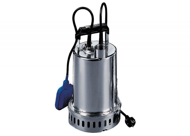 Zehnder Pumpen Drain-inox 50 MA, 230 V (ponorné čerpadlo s motorem chlazeným čerpanou vodou) - Čerpadla, čerpadlové šachty Čerpadla Zehnder Pumpen Kalová čerpadla