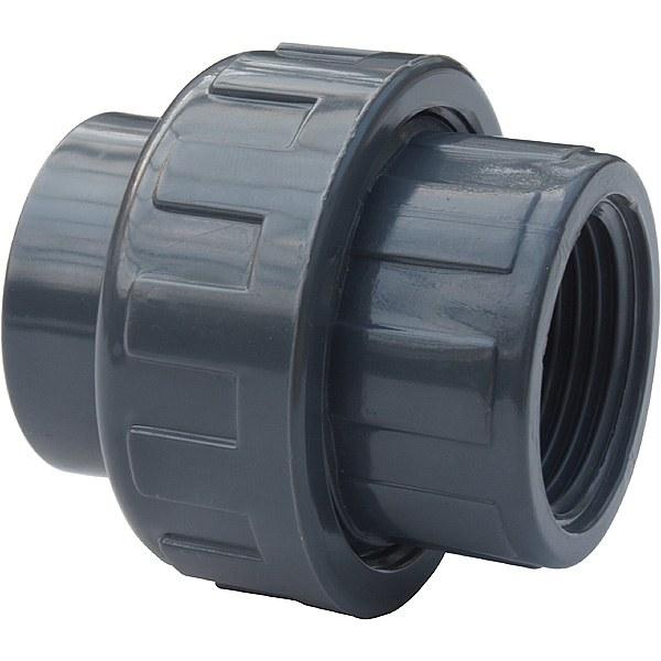 """PVC šroubení 40mm x 1 1/4"""" int. (zesílené) - Stavba jezírka,hadice,trubky,fitinky Tvarovky,fitinky Šroubení"""