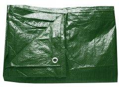 Plachta 6 x 8 m PE zelená