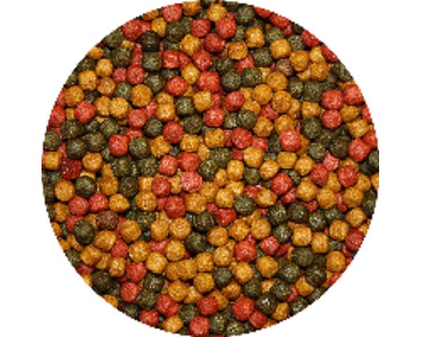 Tříbarevné krmivo pro KOI (1,2kg- 3mm) - Ryby a potřeby pro ryby Krmiva pro ryby Krmiva pro okrasné ryby
