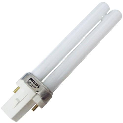 Philips PL-S 9W (náhradní zářivka) - UV-C lampy,zářivky Náhradní zářivky a křemíkové trubice Zářivka 9W