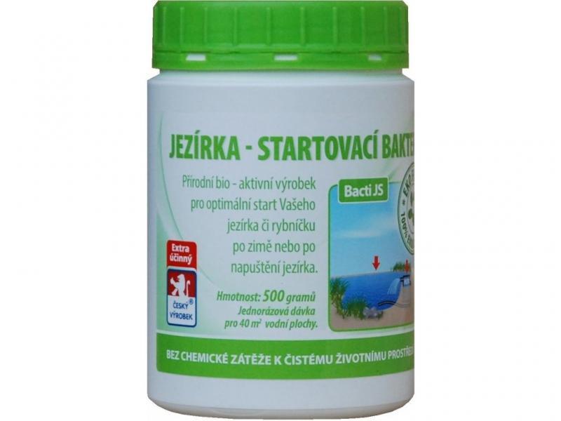 Baktoma Bacti JS - startovací bakterie do jezírka (500g na 40m2) - Péče o vodu, údržba jezírek Startovací bakterie