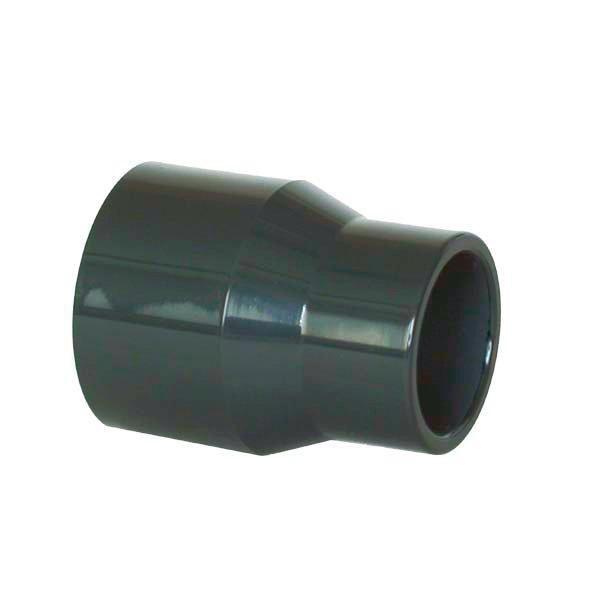 PVC redukce dlouhá 63–50x50mm (lep.) - Stavba jezírka,hadice,trubky,fitinky Tvarovky,fitinky Redukce