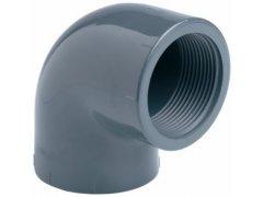 """PVC úhel-koleno 90°-1 1/2"""" int. x 1 1/2"""" int."""