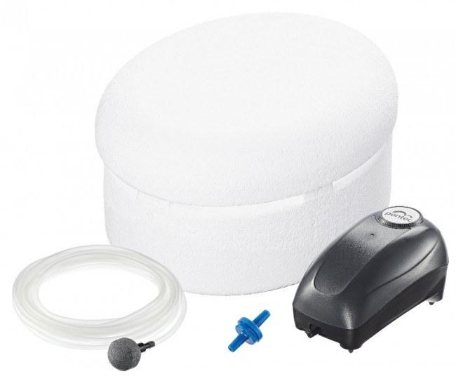 Pontec PondoPolar Air (plovák se vzduchováním) - Vzduchování, kompresory Topná tělesa+plovák proti zamrznutí