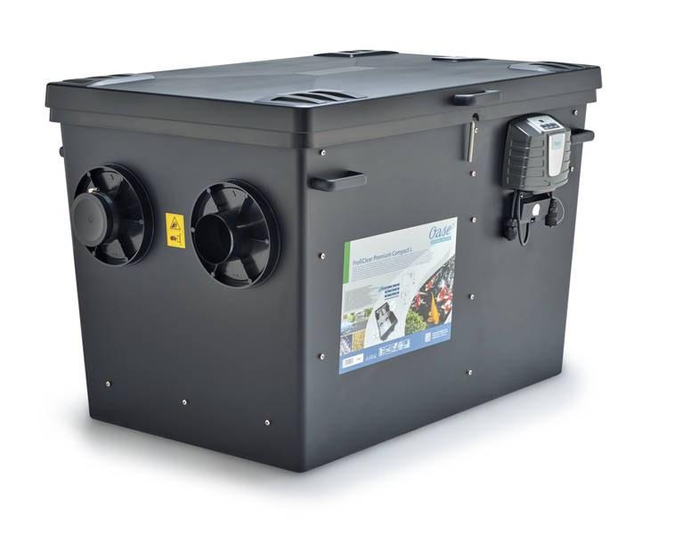 OaseProfiClear Premium Compact-L čerpadlová verze EGC (bubnový filtr na 30m3) - Filtry,filtrační sety a filtrační materiály Oase filtry