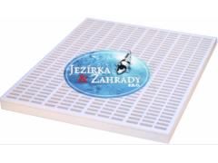 Rošt filtrační bílý silný (90x70x5cm)