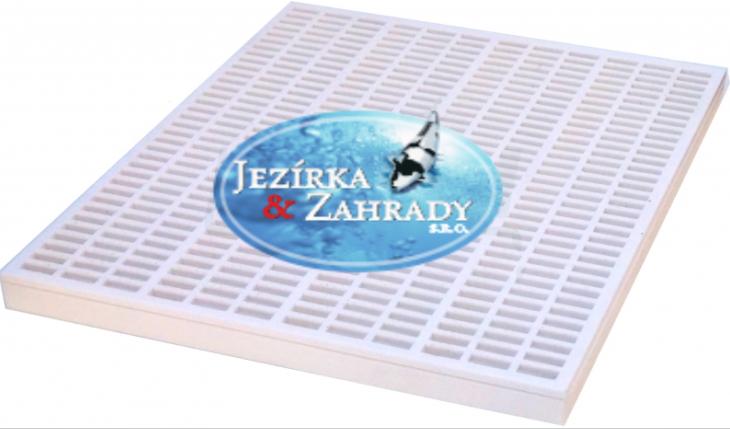 Rošt filtrační bílý silný (90x70x5cm) - Filtry,filtrační sety a filtrační materiály Filtrační materiály Ostatní