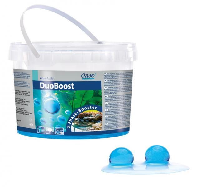 Oase DuoBoost - bakterie pro udržení biologické rovnováhy (2,5 l/2cm) - Péče o vodu, údržba jezírek Startovací bakterie