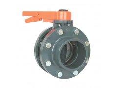 PVC uzavírací klapka s přírubou (110 mm)