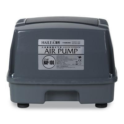 Hailea HAP-100 (membránový vzduchovací kompresor) - Vzduchování a topítka do jezírka Vzduchovací kompresory