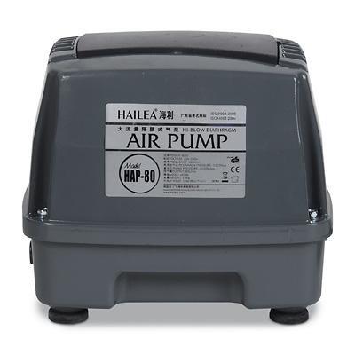 Hailea HAP-80 (membránový vzduchovací kompresor) - Vzduchování a topítka do jezírka Vzduchovací kompresory