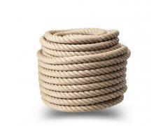 Přírodní jutové lano 26mm (1m)