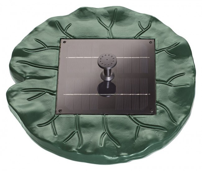 Pontec PondoSolar Lily Island (plovoucí solární fontána) - Vodní hry a fontány Solární čerpadla